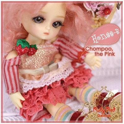 Set Honey-B Chompoo the Pink 11 Cm