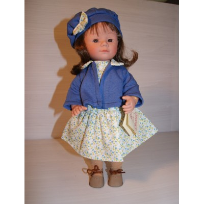Marietta au Béret bleu