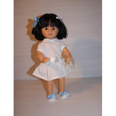 Marietta Asiatique Robe blanche