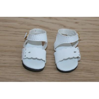 Sandales blanches fantaisie pour Little Darling