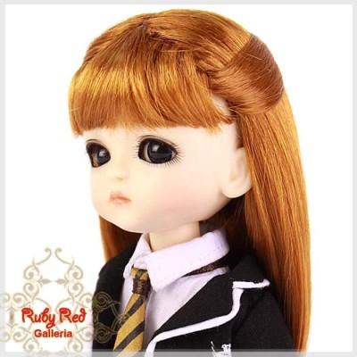 Perruque Princess pour poupée 8 inch