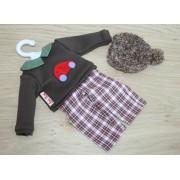 Vêtement Oskar pour poupée Minouche