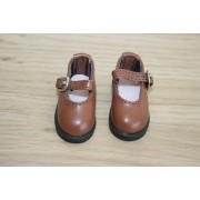 Chaussures brunes pour BJD Darak