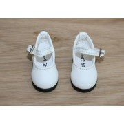 Chaussures blanches pour BJD Darak