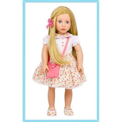 Poupée Cheveux blonds et yeux bleus