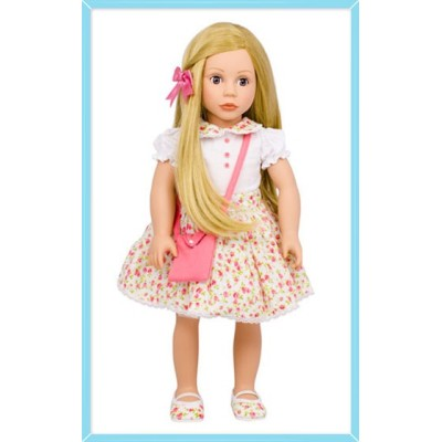 Poupée Cheveux blonds et yeux bruns