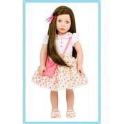 Poupée Cheveux bruns et yeux bleus