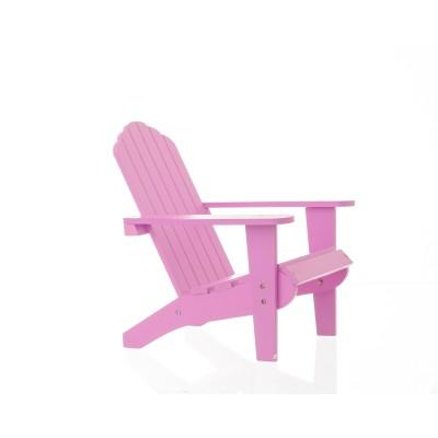 La Chaise Adirondack Rose pour poupées