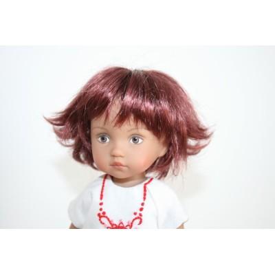 Perruque Roxie pour Boneka