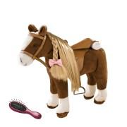 Cheval à Peigner Crinière Blonde 52 Cm