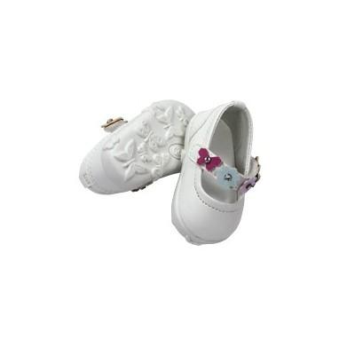 Chaussures à fleurs et papillons