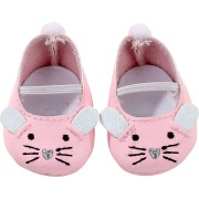 Chaussons roses Souris