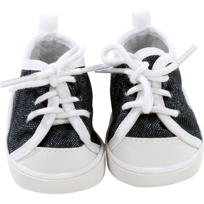 Sneakers à lacets denim