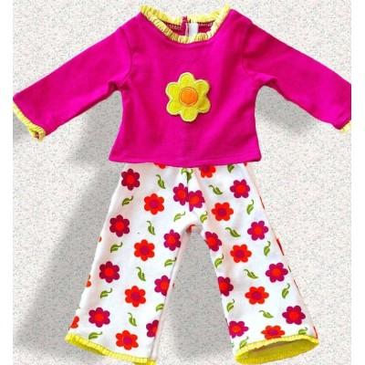 Pyjama à fleurs