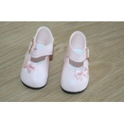 Chaussures roses Noeud côté