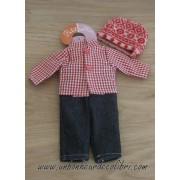Vêtement Luc pour poupée Minouche