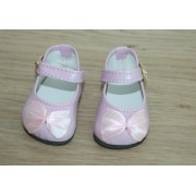 Chaussures Roses vernies