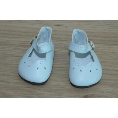 Chaussures découpées Bleu ciel