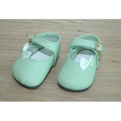 Chaussures Vert clair Noeud côté