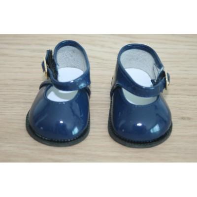 Chaussures Mary Jane Marine vernies