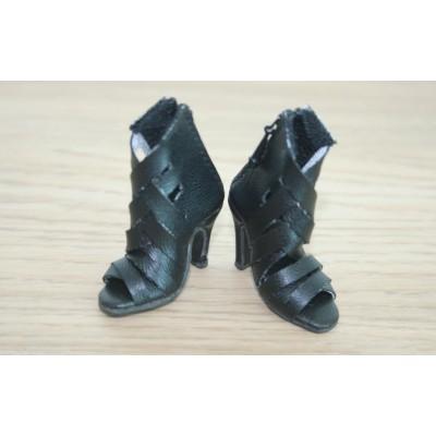Chaussures noires Wild Cat à talons