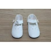 Chaussures découpées blanches pour Kish 14 inch