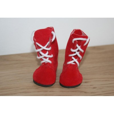Bottines rouges pour Little Darling