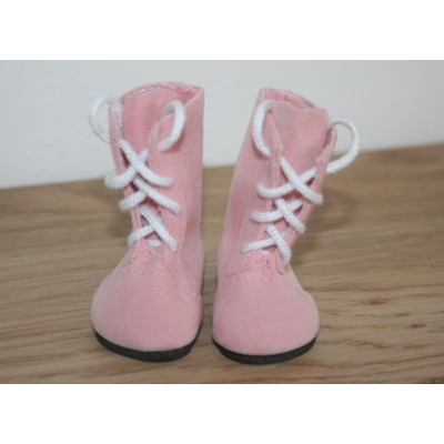 Bottines roses pour Little Darling