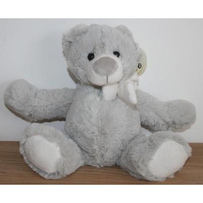 Ours polaire gris - 20 Cm