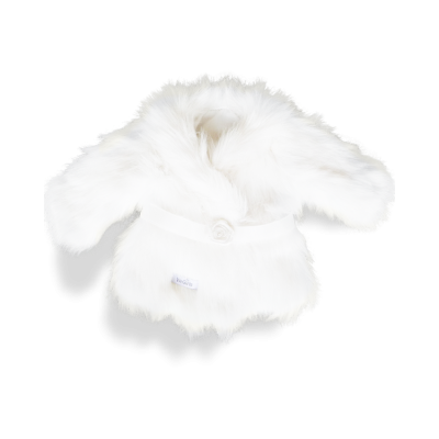 Manteau d'hiver ivoire
