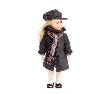 Set Manteau, écharpe et chapeau