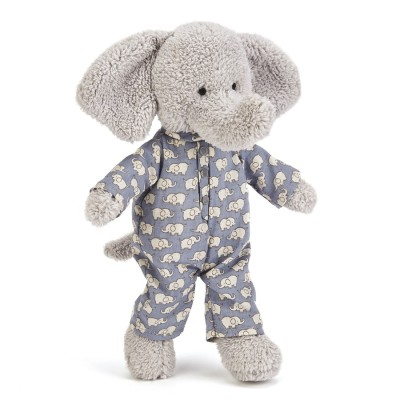 Marty l'éléphant en pyjama - 23 Cm