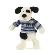 Paxton le chien et son pull d'hiver- 23 Cm