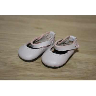 Chaussures Rose Mary Jane pour Boneka
