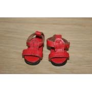 Sandales d'été rouges pour Boneka