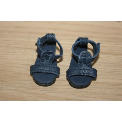 Sandales d'été Bleu Navy pour Boneka