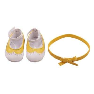 Ballerines bicolores et ceinture