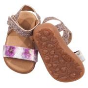 Sandales scintillantes pour poupée Gotz 50 Cm