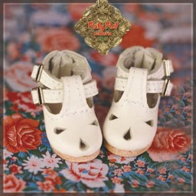 Chaussures crème à brides pour InMotion Girl