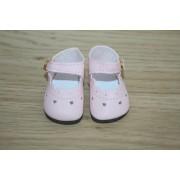 Chaussures roses à petits coeurs pour Little Darling