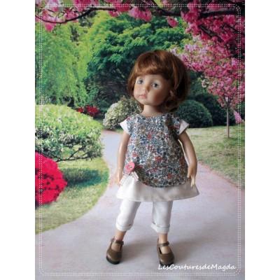 Tenue Charlotte aux Poires pour poupée Boneka