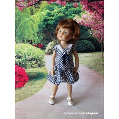 Tenue Petit Caramel au Beurre salé pour poupée Boneka