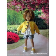 Tenue Sorbet au Citron pour Poupée Little Darling
