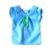 Tee-Shirt bleu Hawaii Poupée WeGirls