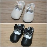 Chaussures lanière noeud Jonquille