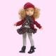 Poupée Fashion Girl Bonnet en laine