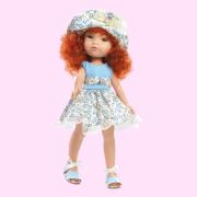 Poupée Fashion Girl Robe bleue