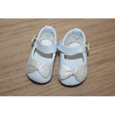 Chaussures blanches vernies