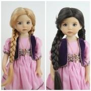 Perruque Anna pour Little Darling
