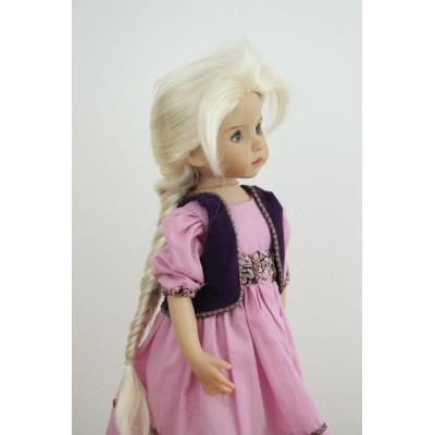 Perruque Elsa pour Little Darling